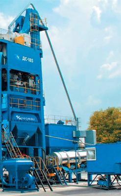 Асфальтобетонный завод ДС-185У (башенная)