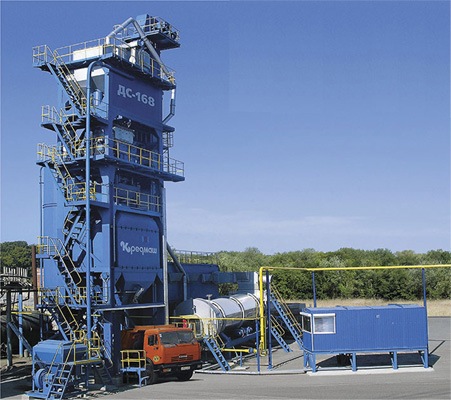 Асфальтобетонный завод ДС-168 (башенная)
