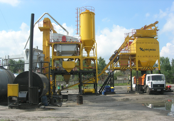 Асфальтобетонный завод ДС-185М - фото