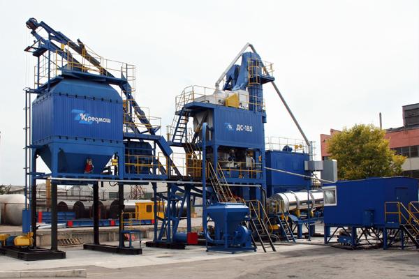 Асфальтобетонный завод ДС-185УМ - фото