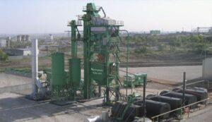 Асфальтобетонный завод КДМ-201М (башенная)