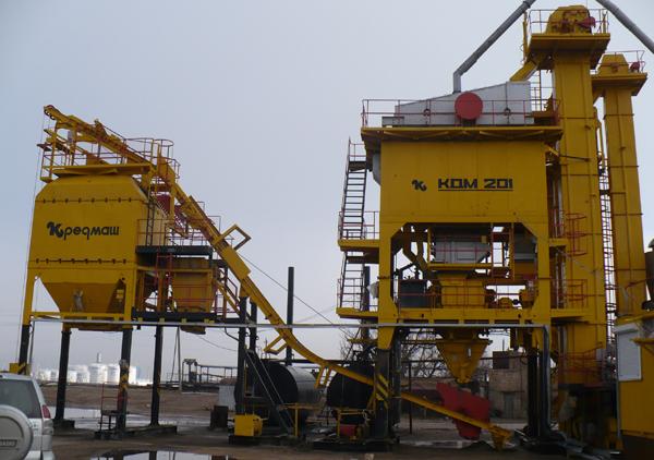 Асфальтобетонный завод КДМ-201М - фото