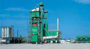 Асфальтобетонный завод КДМ-201 (башенная)