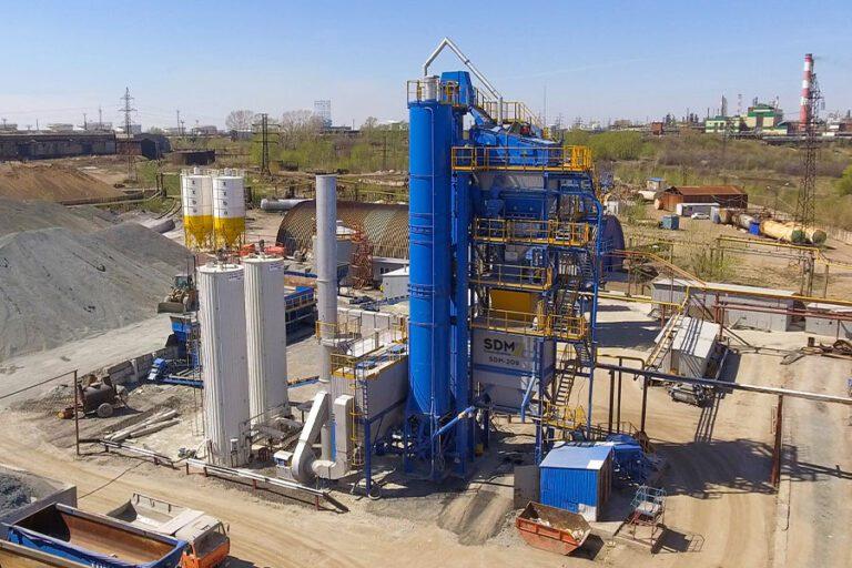 Асфальтобетонный завод КДМ 209