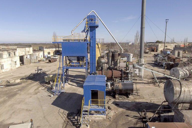 Асфальтобетонный завод ДС 158